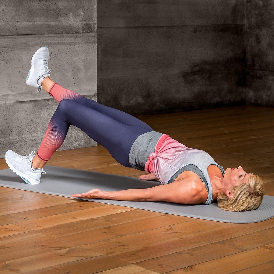Kräftigung der unteren Rücken- und Gesäßmuskulatur | Die Techniker